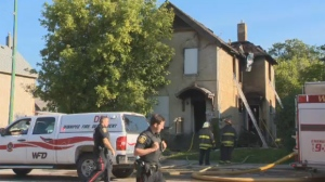 Crews were called to the house in the 300 block of Selkirk Avenue around 6:30 a.m. When they arrived, they found the house engulfed in flames.