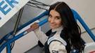 Balcaen is a third generation race car driver, her website said. (Source: Amber Balcaen/ Facebook)