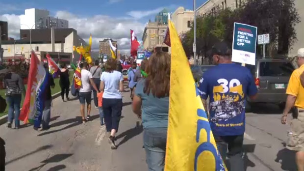 Labour Day marches across Manitoba | CTV News Winnipeg
