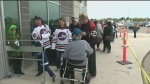 Jets Fan Fest goes on after power outage delays