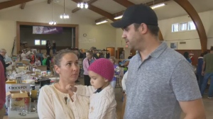 Candace and Jason Schellenberg's daughter Brenna was recently diagnosed with brain cancer.