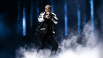 Drake performs at the 2016 iHeartRadio Music Festival at T-Mobile Arena in Las Vegas on Friday, Sept. 23, 2016. (AP / John Salangsang)