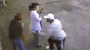 Disturbing video shows man attacking women