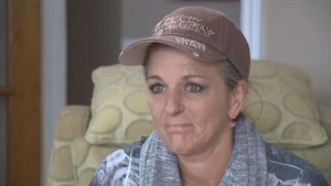 Tammy Russell was diagnosed with a brain aneurysm a little more than four weeks ago and says it's slowly causing her to lose her vision.