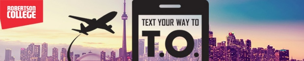 Text Your Way to TO Contest