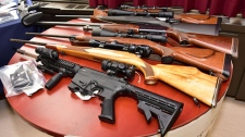 Weapons seized in Project Derringer