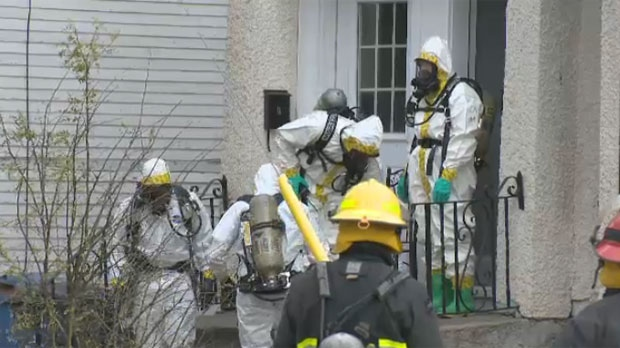 Hazmat team on scene in St. John's area