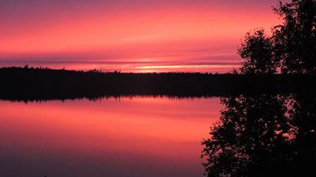 Beautiful hues of Red Lake, ON. Photo by Bill Pryndik.