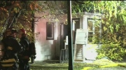 Vacant house fire on Jamison Avenue
