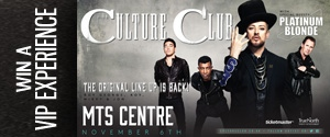 Culture Club VIP Experience Contest Rotator