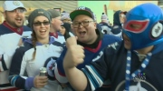 Hockey fans pumped for outdoor game