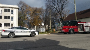 Winnipeg police said the Clandestine Lab Team responded to a home on Aikins Street at around 5:30 p.m. (File Image)