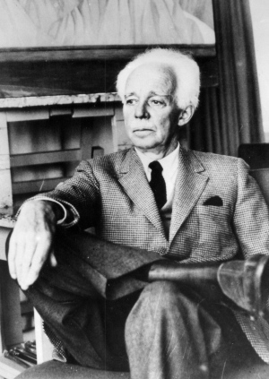 This is a circa 1962 photo of Lawren Harris, impressionist painter and member of the Group of Seven. (CP PHOTO/cp)