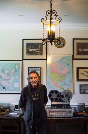 Gordon Lightfoot poses for a photo in his Toronto home ahead of a series of North American tour dates on Wednesday, August 3, 2016. (THE CANADIAN PRESS/Aaron Vincent Elkaim)