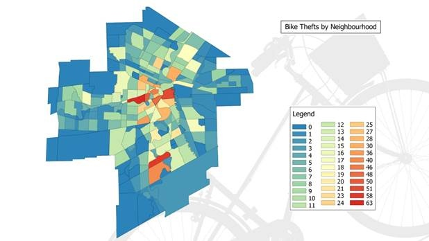 Top neighbourhoods for bike theft in Winnipeg CTV News Winnipeg