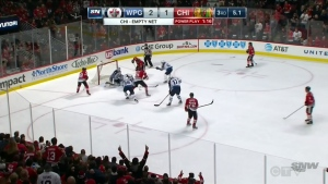 Jets soar over Blackhawks