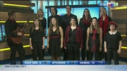 The Winnipeg Youth Chorus performs