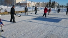 The Breakaway Street Hockey Classic is put on in support of Hospitality House, an organization that privately sponsors refugees. (Dan Timmerman/ CTV Winnipeg)