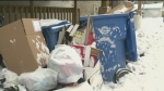 City playing catch up on replacing garbage bins