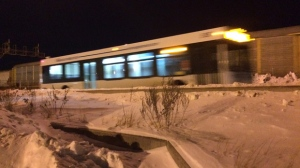 The victim was taken to hospital and treated for non-life threatening injuries. (Josh Crabb/CTV Winnipeg)