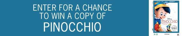 Pinocchio DVD Contest
