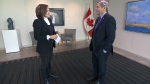 Canada's ambassador to the United States David MacNaughton speaks to CTV National News Anchor and Senior Editor Lisa LaFlamme from the Canadian embassy in Washington, D.C.