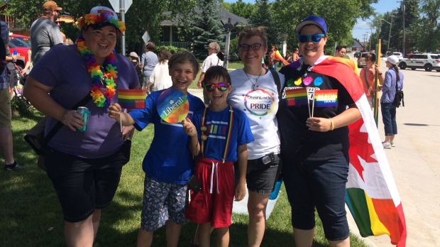 Steinbach Pride march