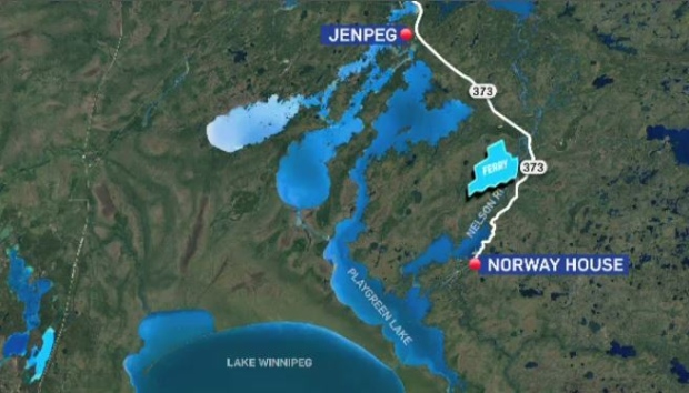 New Tonne Cable Ferry Experiencing More Delays En Route To - Norway house map