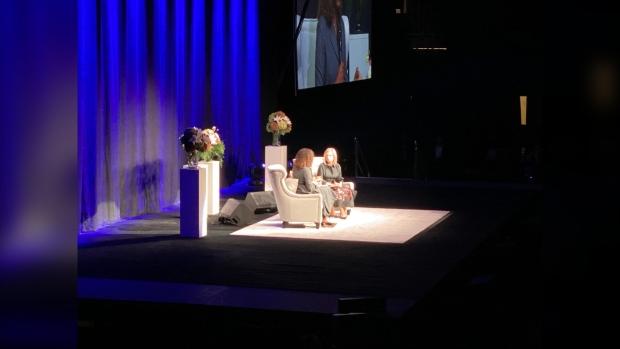 Michelle Obama in Winnipeg