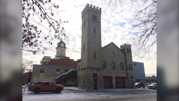 The old St. Boniface Fire Hal