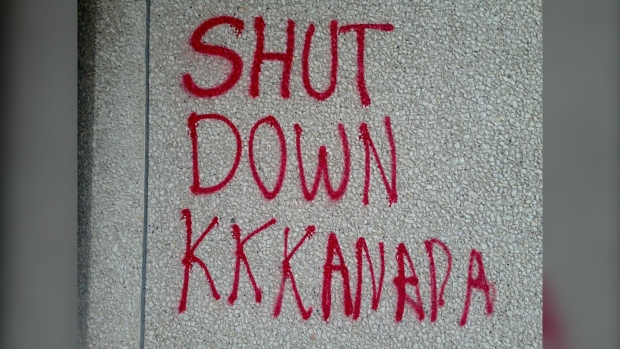 RCMP HQ Graffiti