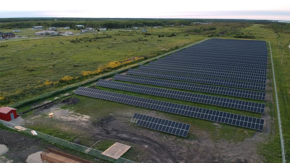 Fisher River solar farm