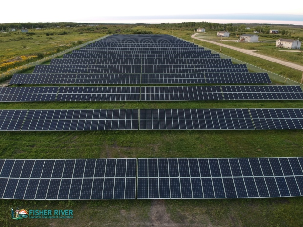 Fisher River solar farm