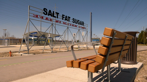 Salt fat sugar