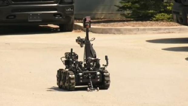 Winnipeg police robot