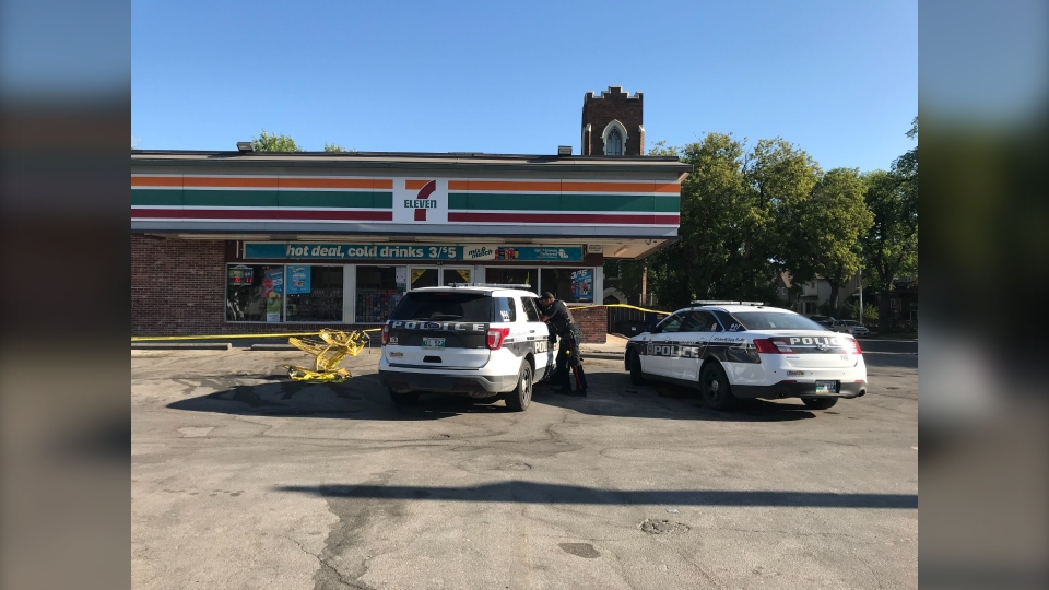 Police at 7-Eleven