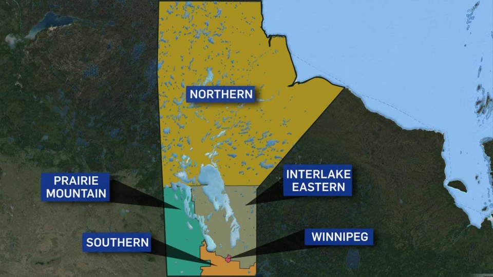 Manitoba Health Regions