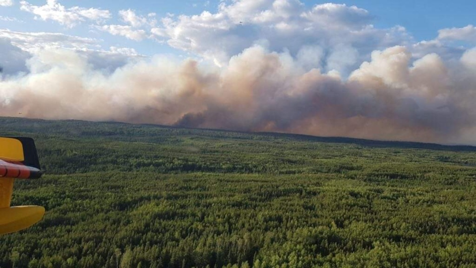 Evacuation continues in Red Lake due to forest fire