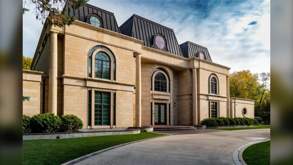 Most expensive Winnipeg home