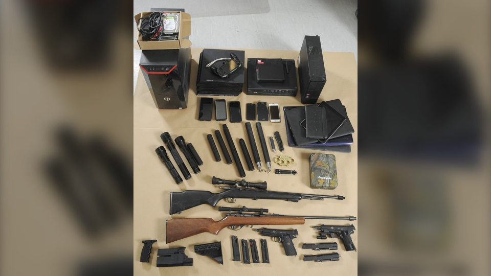 The Pas RCMP firearms seizure