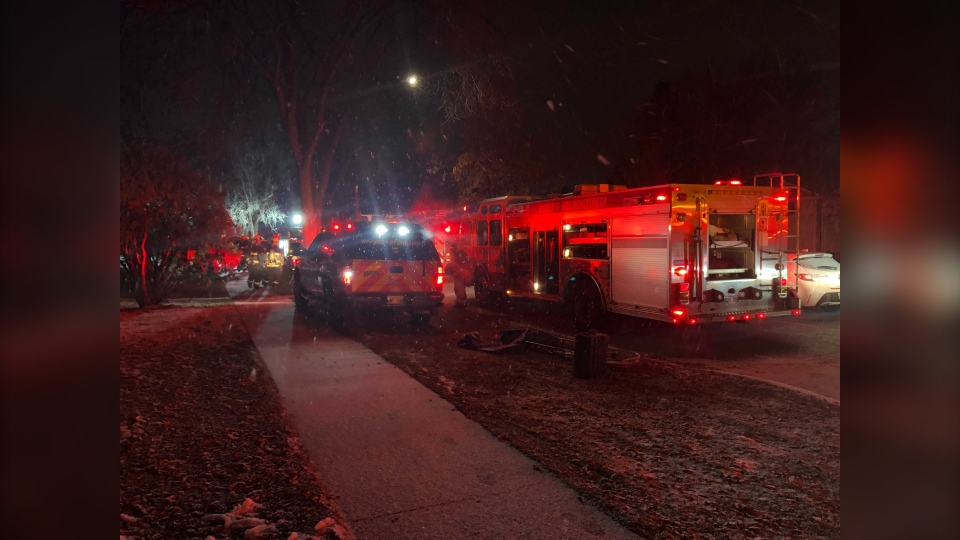 Ashton avenue fire