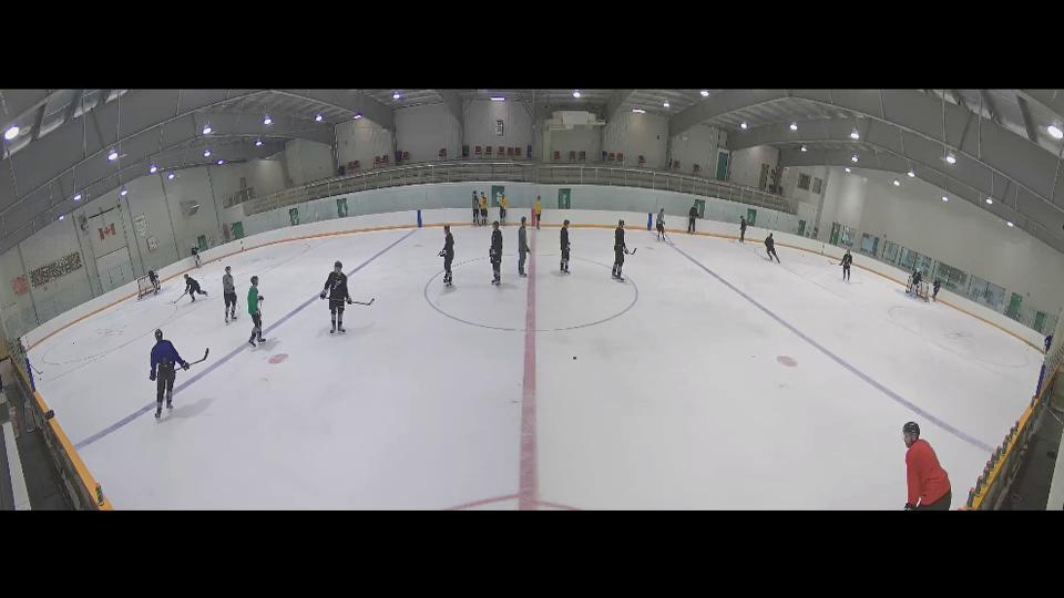 hockey practice red zone