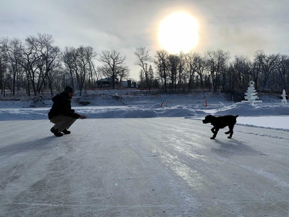 St. James skating