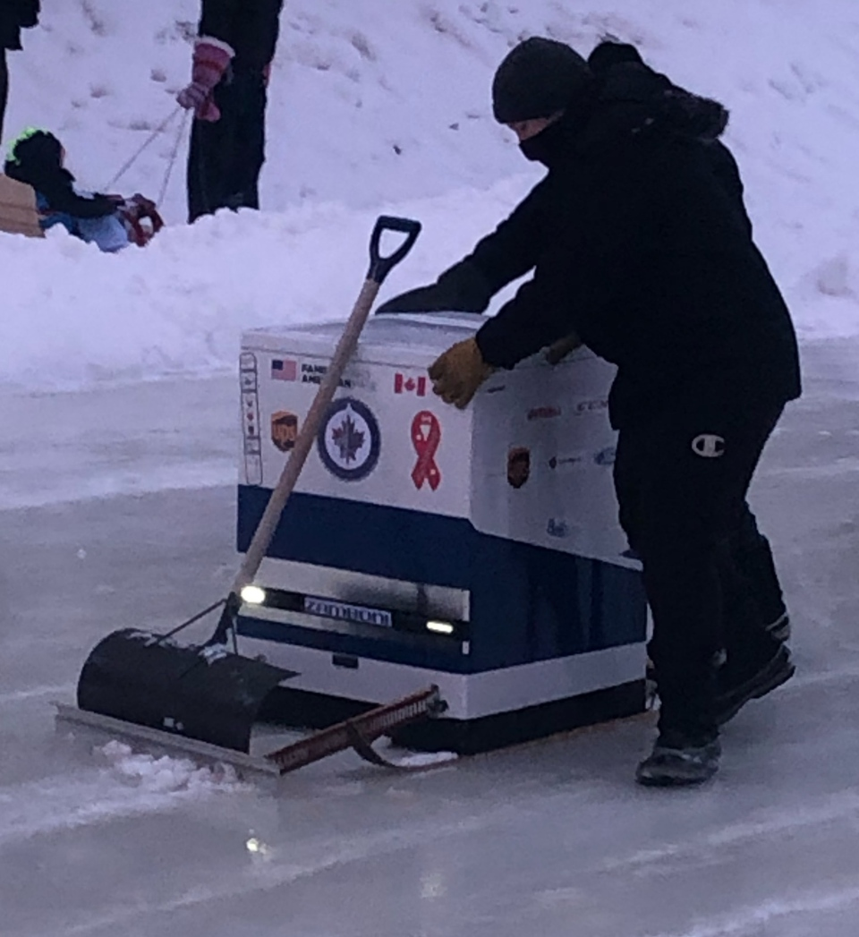 HOMEMADE ZAMBONI