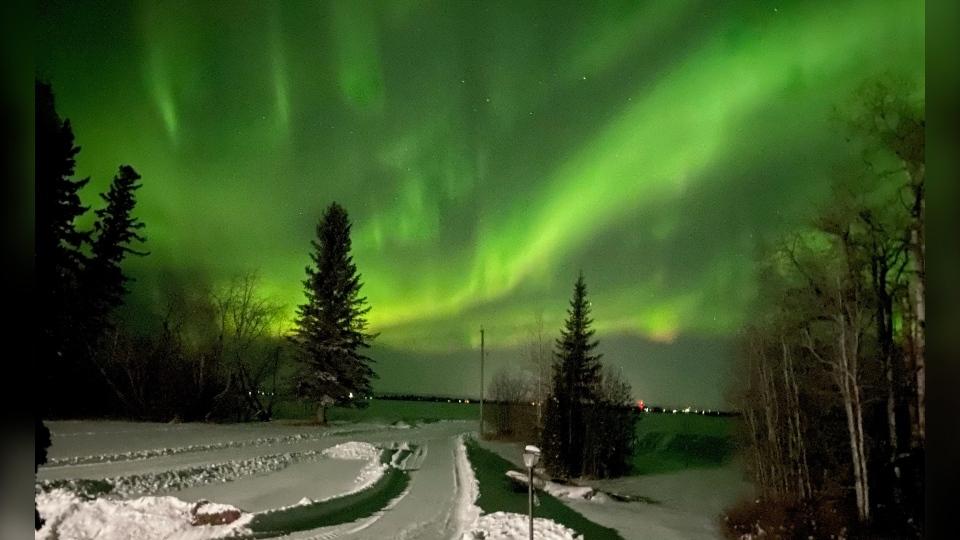 Aurora Borealis Swan River