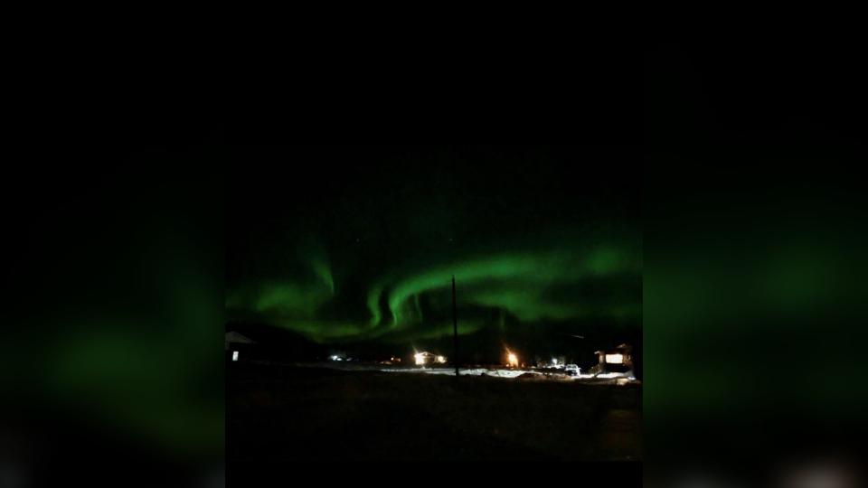 Aurora Borealis Lake Manitoba
