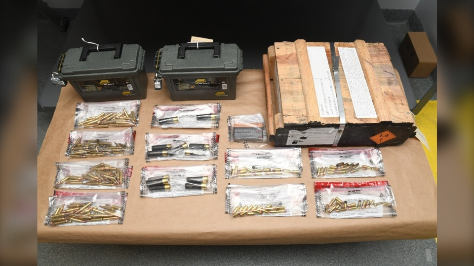 ammunition seized