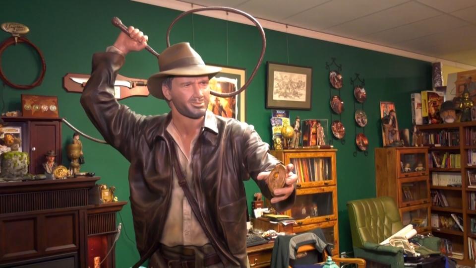 Les David Indiana Jones collection