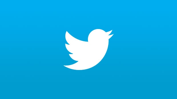 The Twitter logo.