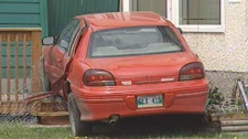 The collision was reported May 16, 2012 in Winnipeg on Magnus Avenue at Sinclair Street.